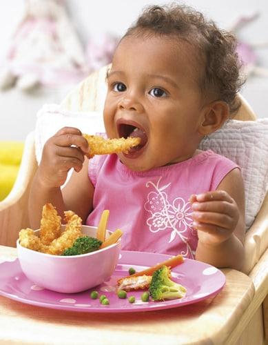 Toddler Feeding Herself